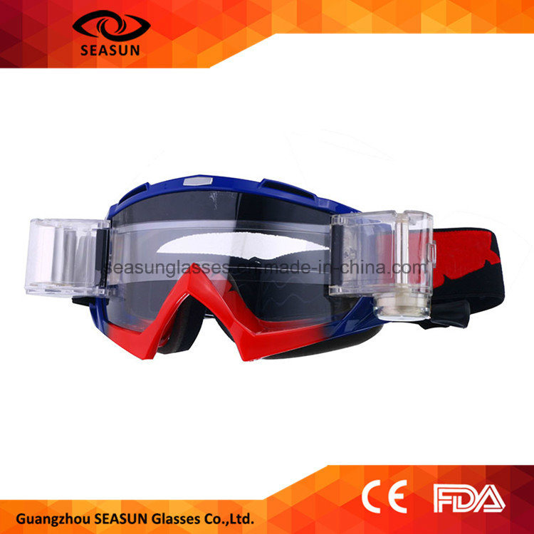 Factory Best Quality Windproof Motocross Gear UV Protective Mx Racing Motorbike Safety Motocross Goggles pictures & photos