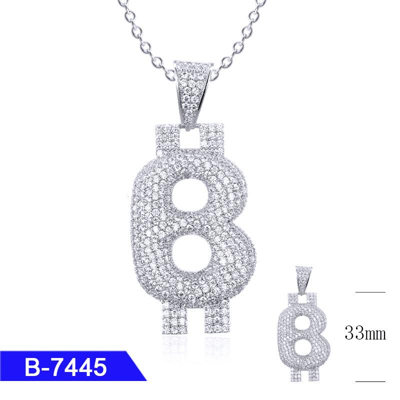 BULK 30 Letter L charms antique silver tone