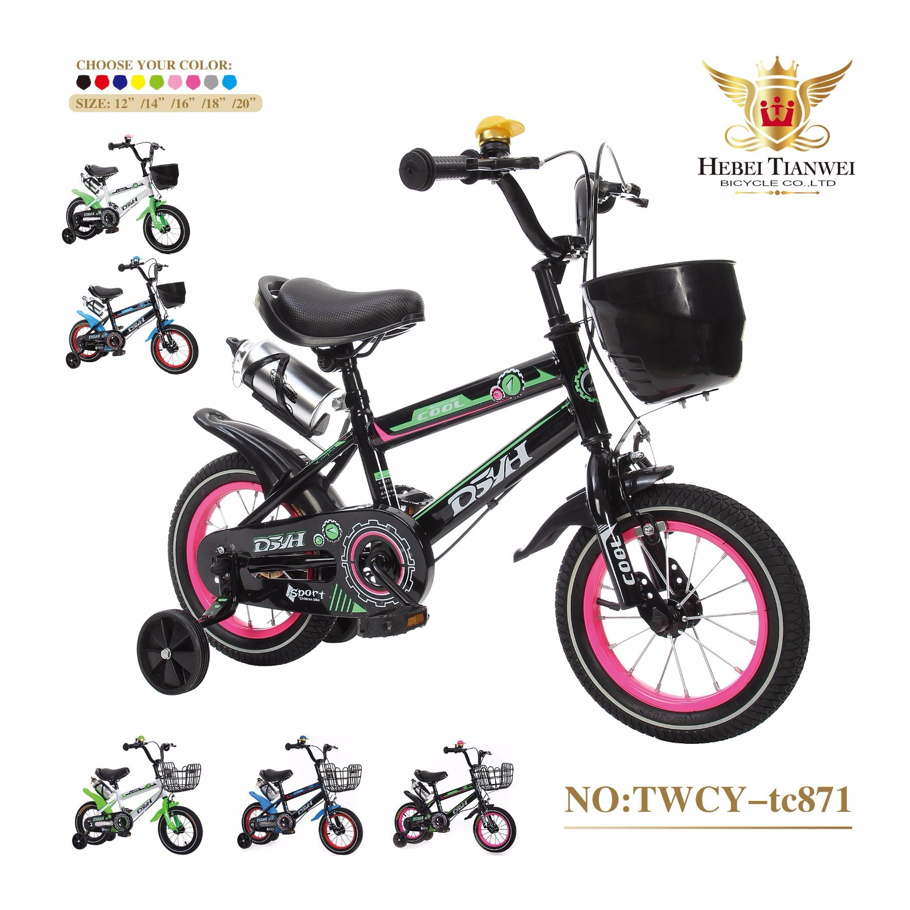 12inch Children Bicycle/High Quality New Styles Child Bikes