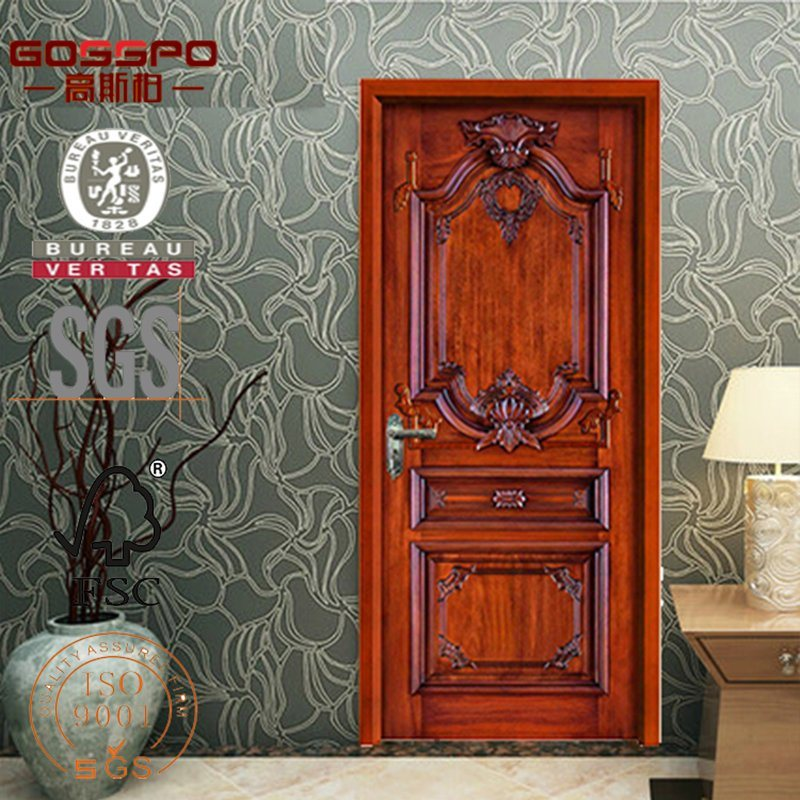 China European Antique Carved Solid Wood Interior Doors Gsp2 024