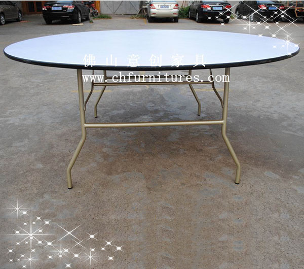 Hot Item Folding Round Dining Table Ycf T01 03