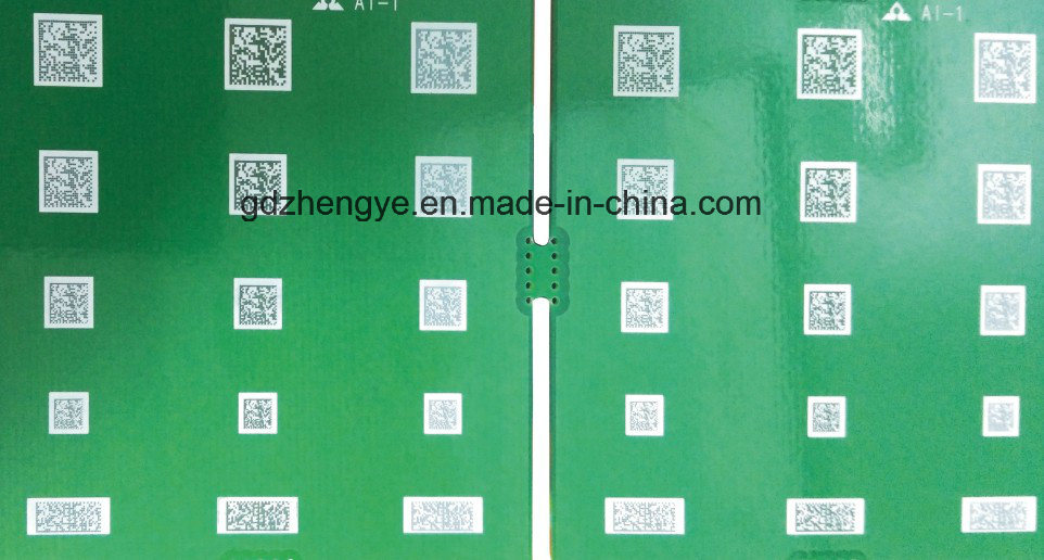 High Precision PCB Automatic QR Code Laser Marking Machine (PCB-0707) pictures & photos
