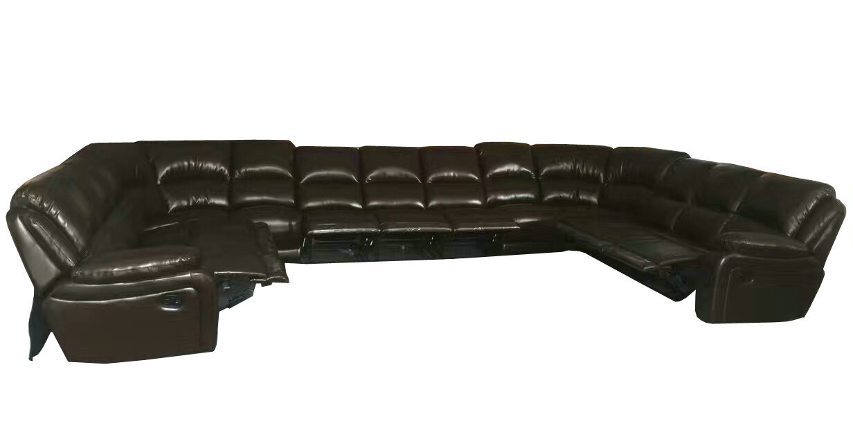 Swell Hot Item U Shape Leather Recliner Sofa For Big Arab Living Room Home Furniture G17319 Onthecornerstone Fun Painted Chair Ideas Images Onthecornerstoneorg