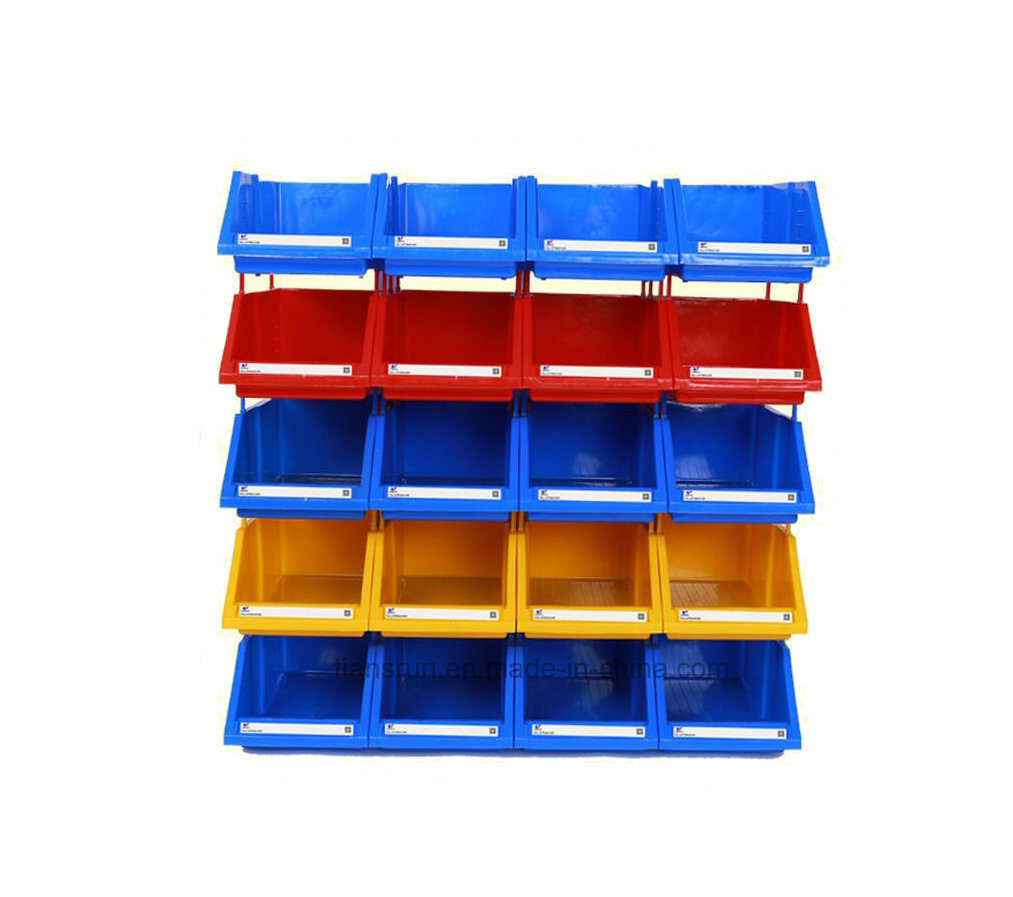 china hdpe plastic stackable warehouse storage bin photos pictures