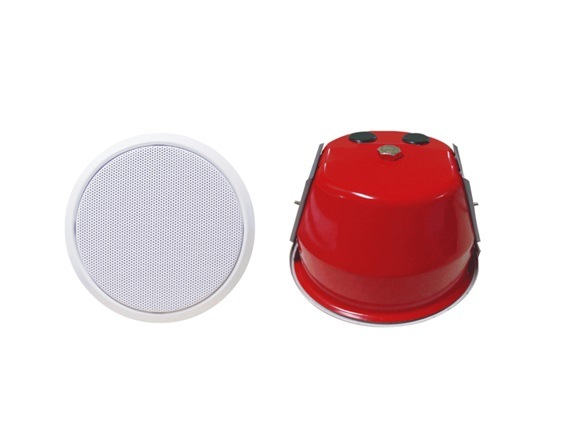 PA System 6′′ Fireproof Ceiling Speaker with Fire Dome pictures & photos