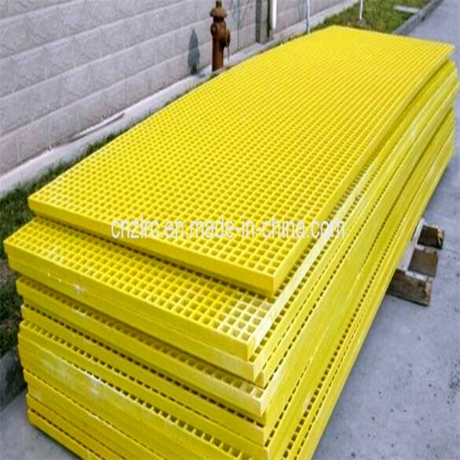 FRP Chemical Resistance Light Weight Corrosion Resistant FRP Fiberglass Reinforced Plastic Flooring Gratings