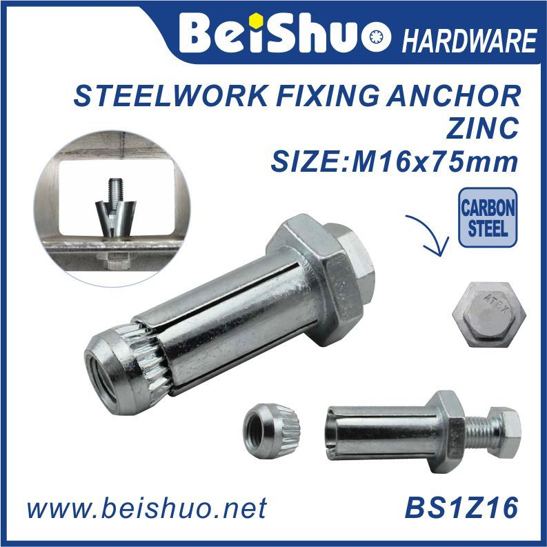 [Hot Item] Expansion Anchor Bolt with Flat Washer and Hex Nut