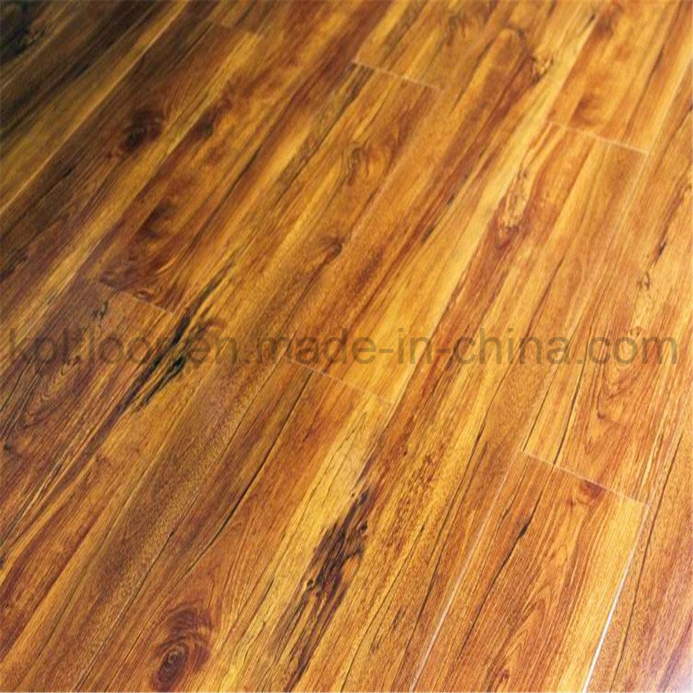 China 8 12mm High Glossy Laminate Flooring Laminated Wood