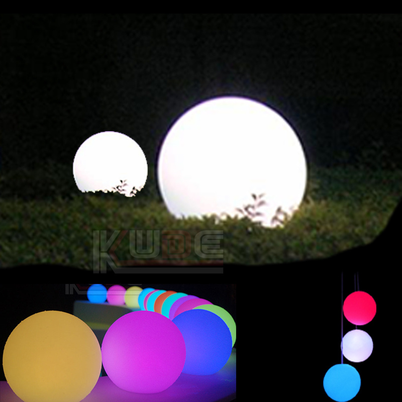 Large Led Ball Outdoor Lamp Garden Yard