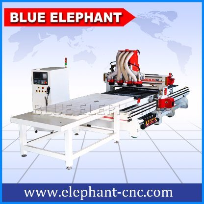 Ele 1330 Kitchen Cabinet Making Machine, Multi Spindle CNC Router for Wood Door pictures & photos