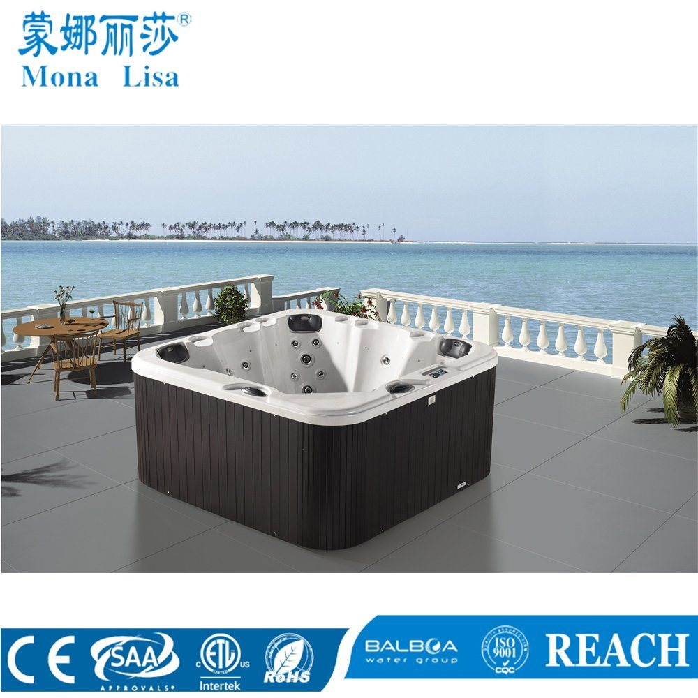 China Outdoor Deluxe Hydro Aqua Air Bubble Jets Whirlpool Massage ...