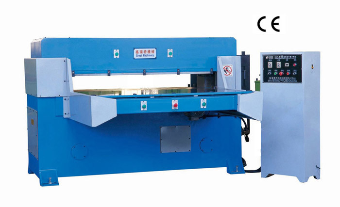 80T Automatic Feeding Auto-Balance Precision Four-Column Hydraulic Plane Cutting Machine (XCLP3-80)