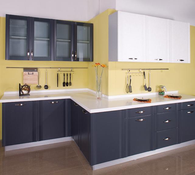 Pvc Kitchen Cabinet Doors: China PVC Wrap Kitchen Cabinets (Perfect Match)
