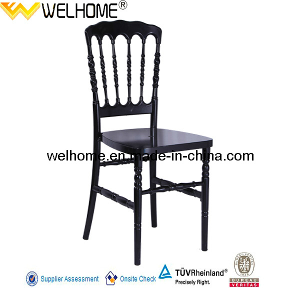 Hot Sale PC Material Resin Napoleon Chair for Party Rental