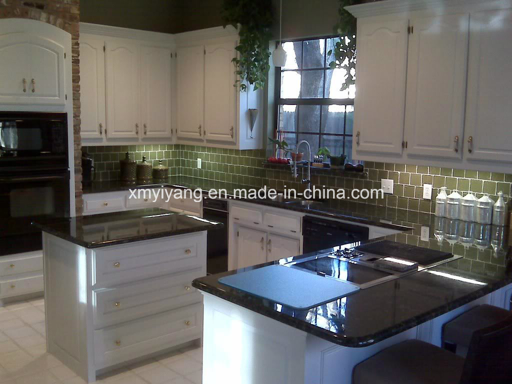 China Natural Stone Blue Pearl Granite Countertop For Kitchen Bathroom China Vanity Top Countertop