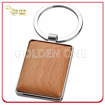 Superior Quality Custom Design Pattern Wooden Key Chain