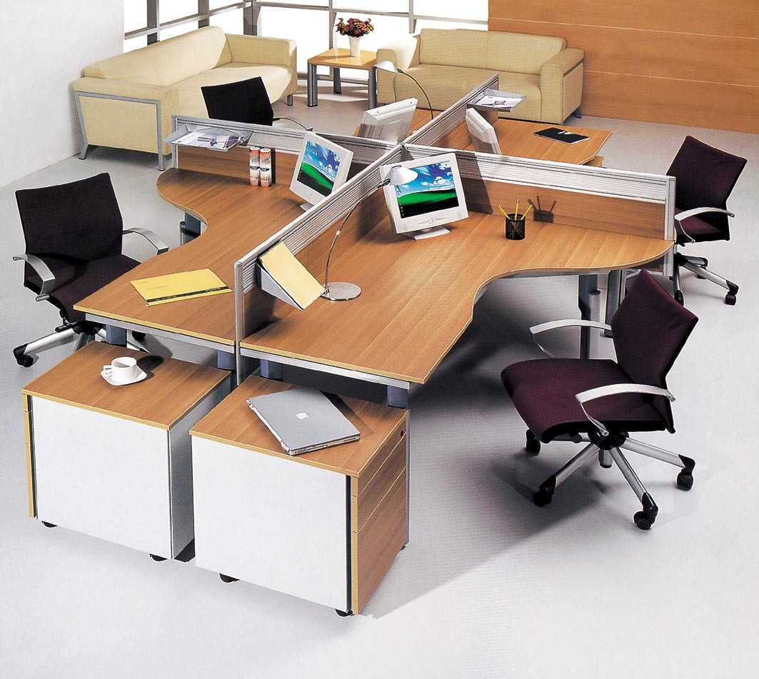 China Factory Wholesale Durable Office Desk Layout Sz Od349 Photos Pictures Made In China Com