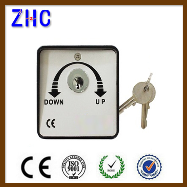 China European 220v 2 Position 3 Postion Key Operated Switch For