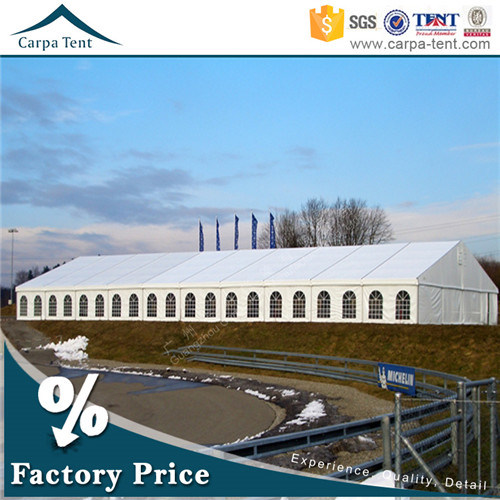 Customized Size Fabric Structure German Standard Event Tent for 300 People