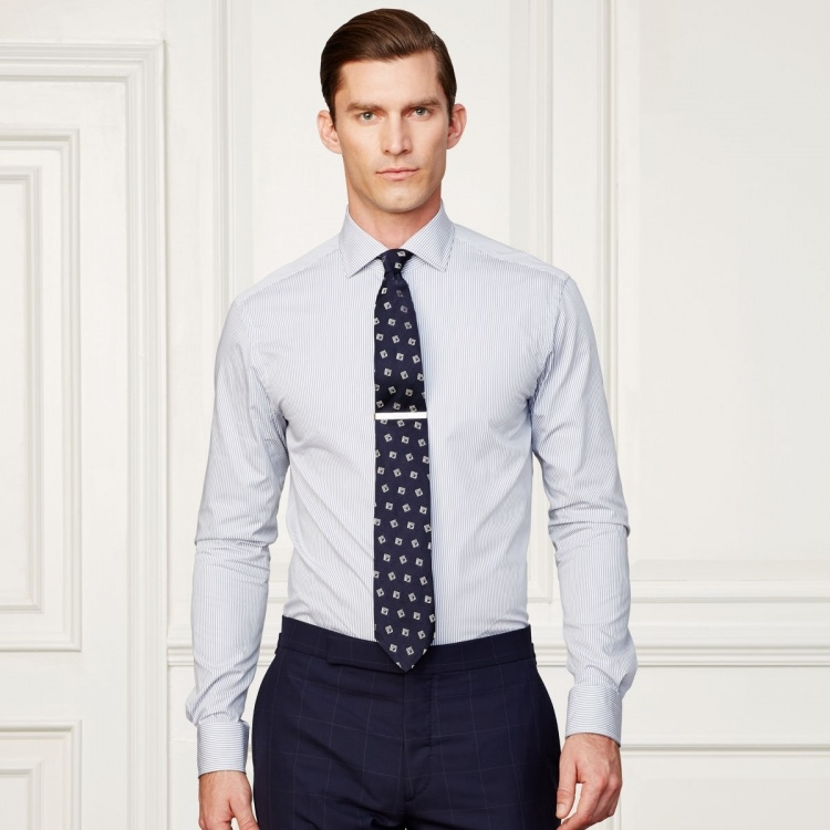 39c94c829f6eb China Made to Measure Slim Fit Long Sleeve Men′s Dress Shirt - China Shirt