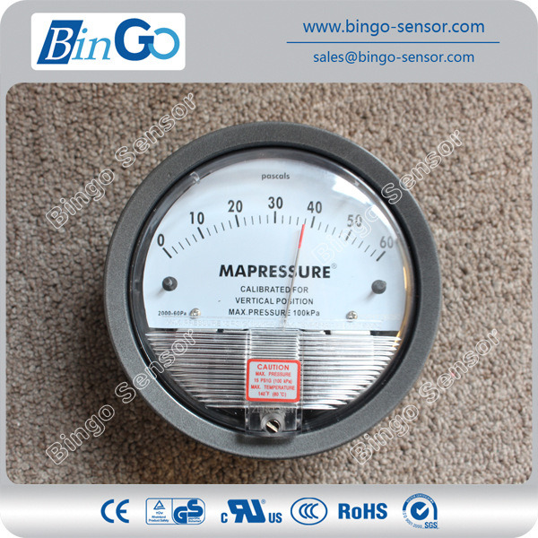 Micro Differential Pressure Gauge for Gas