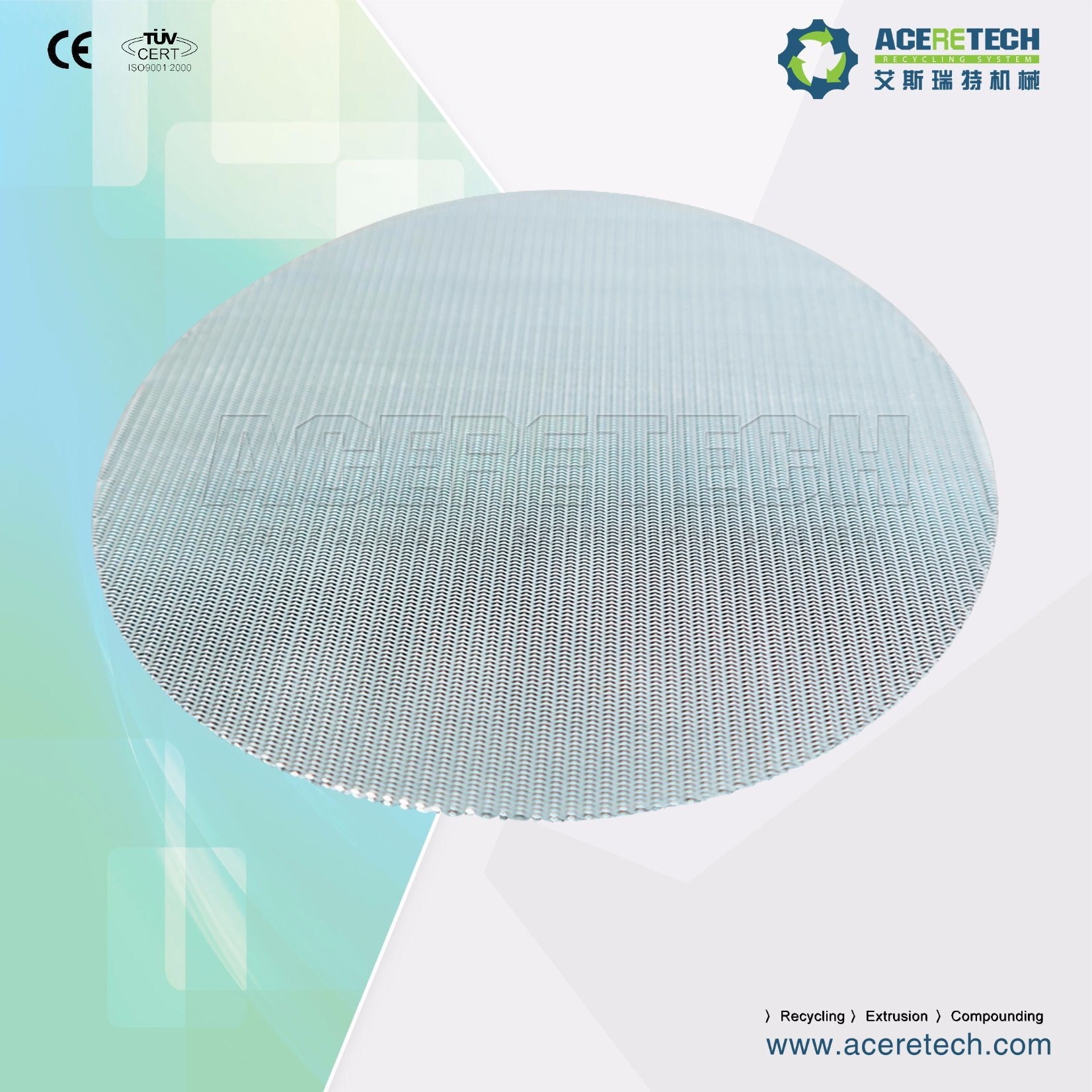 China Soft Wire Mesh for Screen Changer for Filtration for Plastic ...
