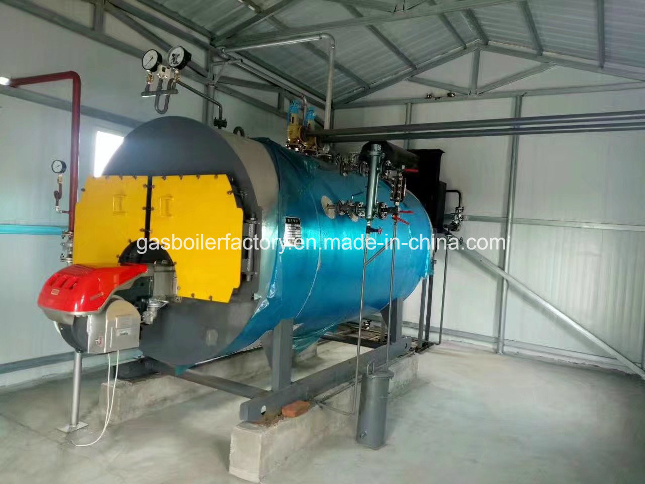 China Horizontal Type Fire Tube Automatically Natural Gas or Diesel ...