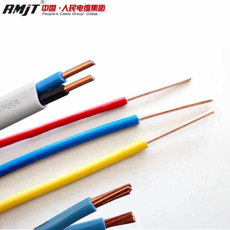 China Copper Core PVC Coated Electrical Cable Products House Wiring ...