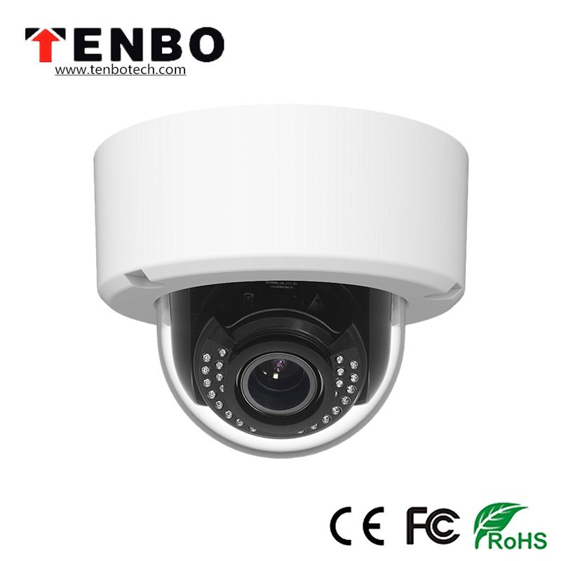 5.0MP HD WDR 120dB 2.8-12mm Motorized 128GB IR Distance 50m IP66/Ik10 Vandal Proof Outdoor IR Poe Dome IP Camera pictures & photos
