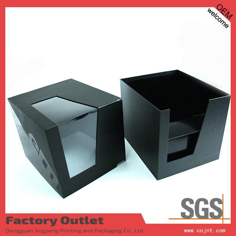China Elegant Custom Make Clear Acrylic Window Gift Box Cardboard