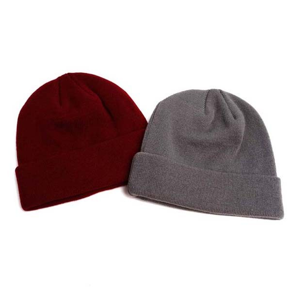 Jacquard Weave Acrylic Knit Beanie China Wholesale