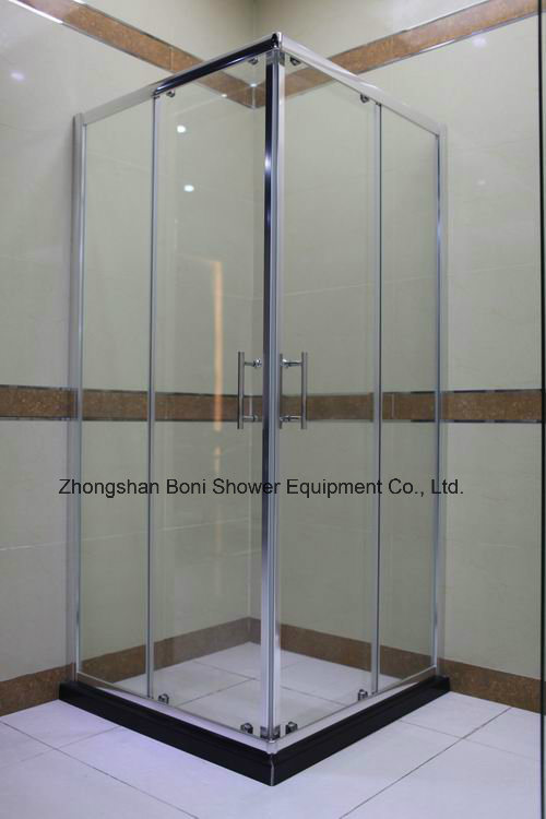 Bathroom 6mm Corner Entry Shower Enclosure