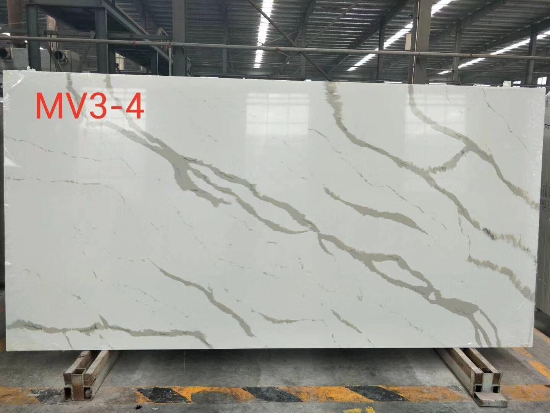 Stone Calacatta White Quartz