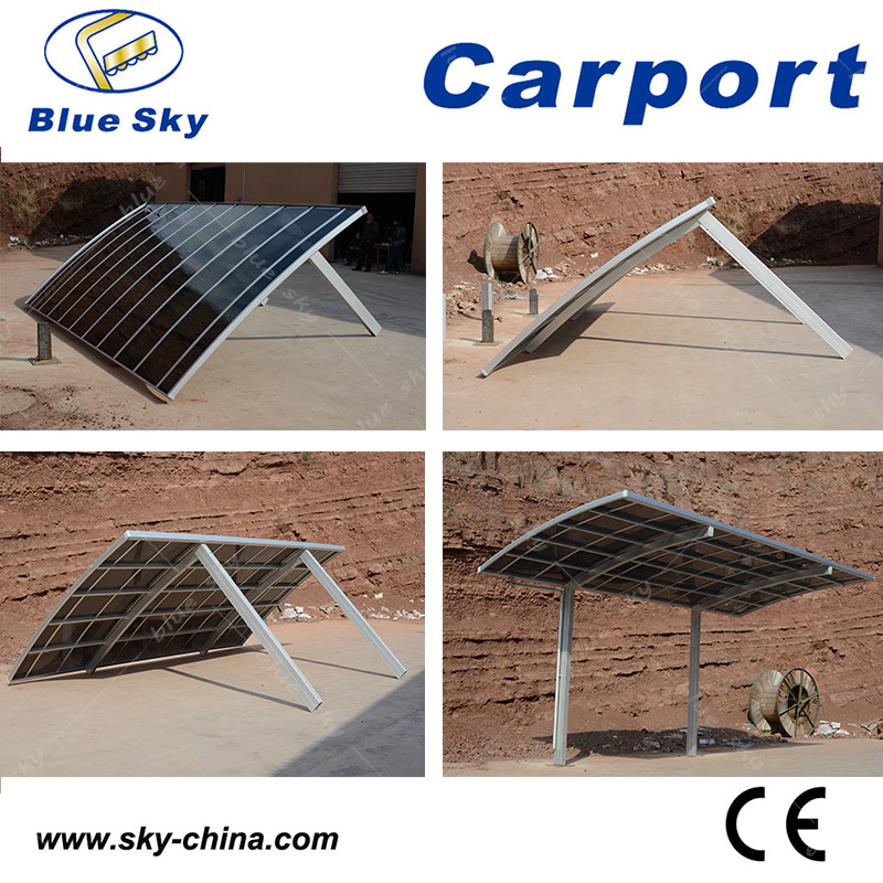 Polycarbonate Aluminum Double Carport for Car Garage (B810) pictures & photos
