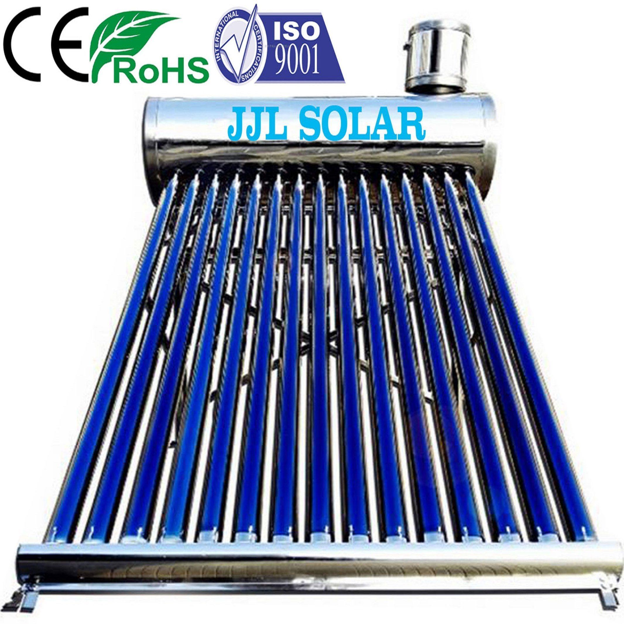 China High Pressure Non Pressurized Heat Pipe Solar