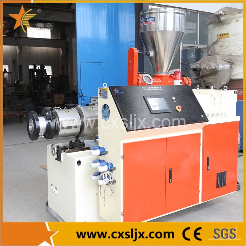 Plastic Machine Conical Twin Screw Extruder for PVC Pipe Profile Sheet Line
