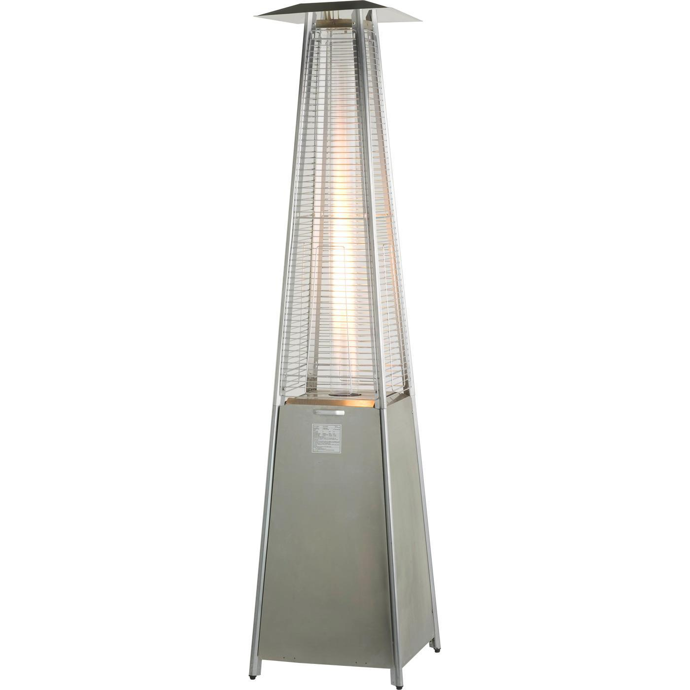 China Portable Pyramid Glass Tube Flame Gas Radiant Tube Patio Heater    China Patio Gas Heaters, Garden Heaters