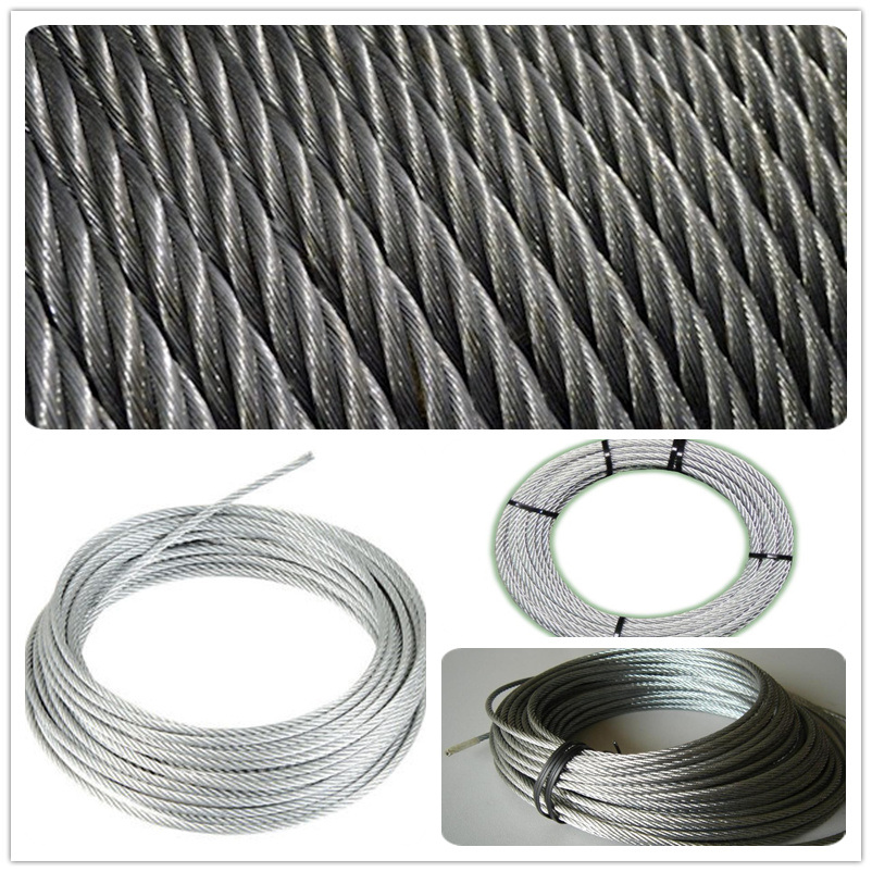 China Right-Hand Lang′s Lay (RHLL) Wire Rope (Close-Up) Photos ...
