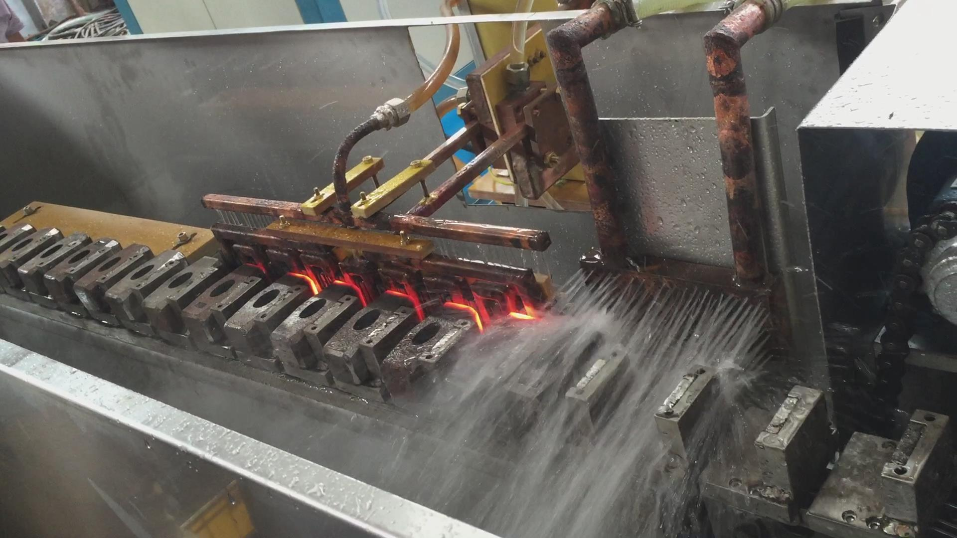 China Medium Frequency Induction Heating System for Hammer Forging