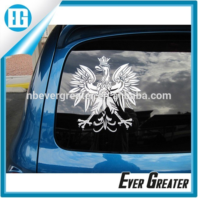 Cheap Custom Waterproof Removable Car Window Decal