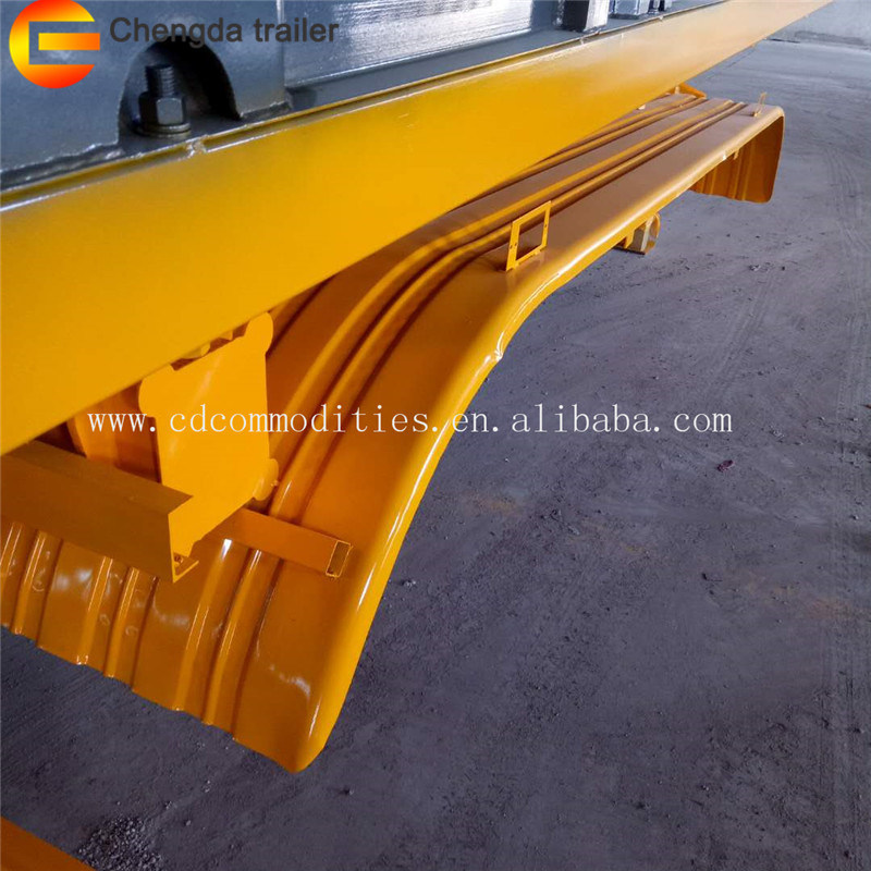 China Rear Tipper Widely Used U Haul Car Trailers End Dump Tipping
