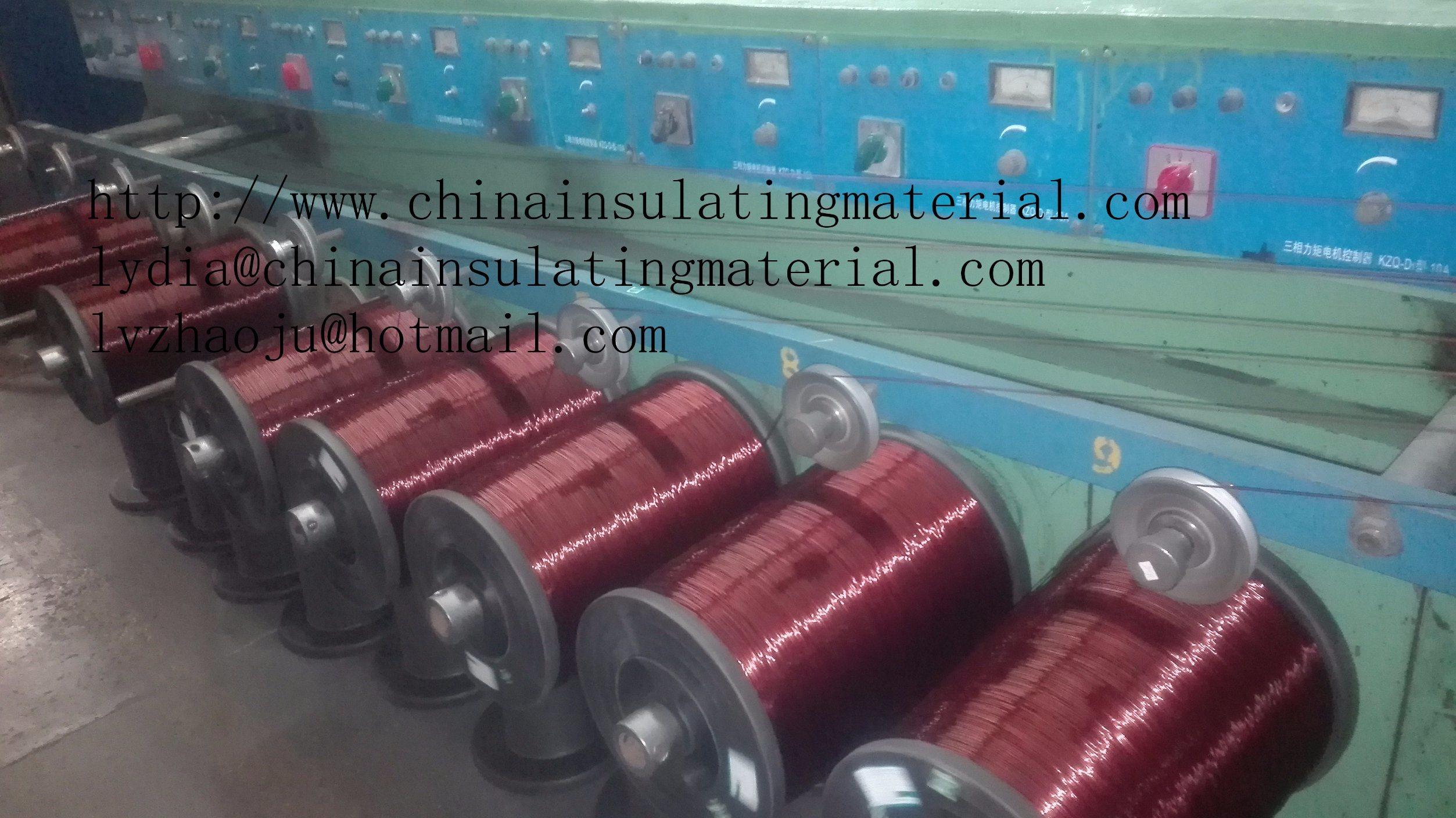 China Polyester Enameled Al Round Wire 155 Degree - China Enameled ...