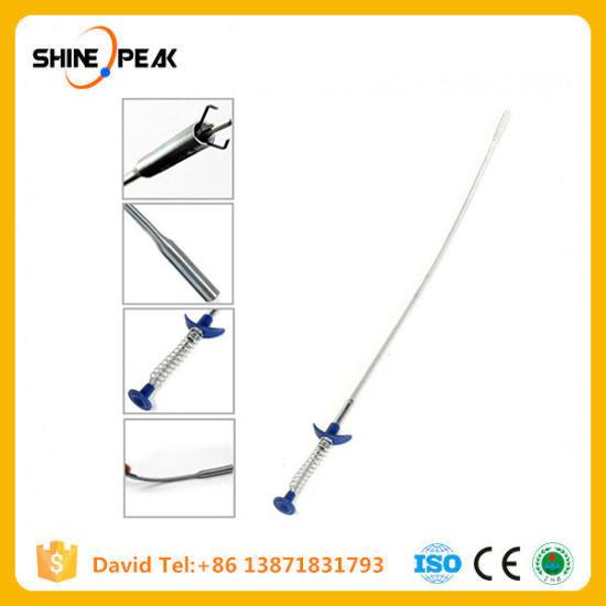 60 cm flexible 4 Griffe Long Reach Pick Up Outil Bend courbe Grabber poignée ressort S *