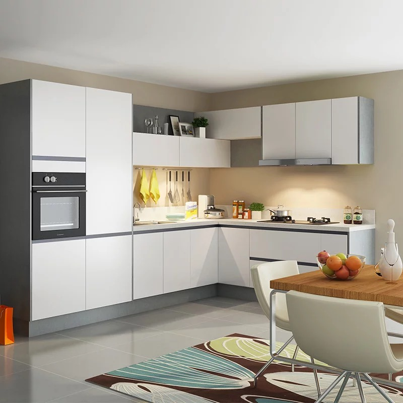 China 2019 Hangzhou Aisen L Shaped Modular Kitchen Designs ...