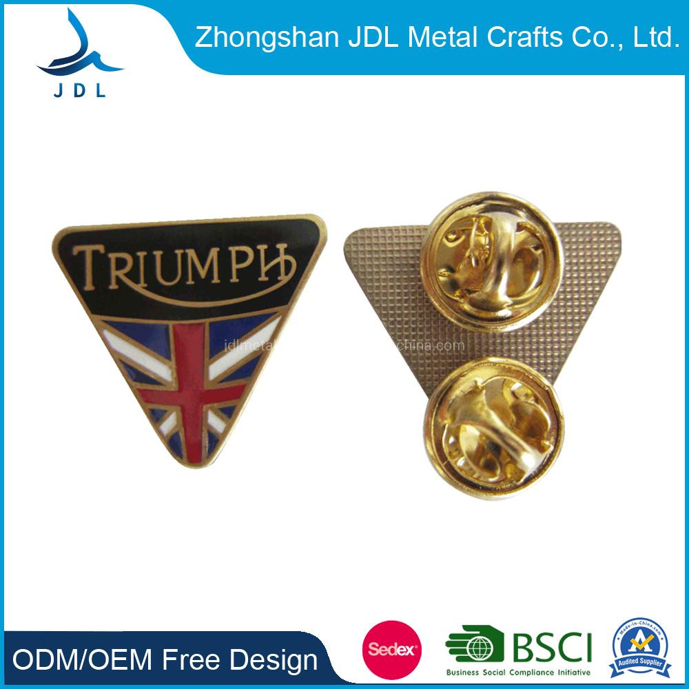 Virginia Flag Lapel Pin Badge Solid Silver 925