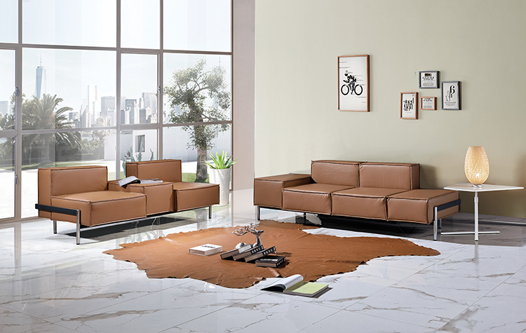 1 3 Seater Office Sofa Pu Sofas And Chairs Couches For