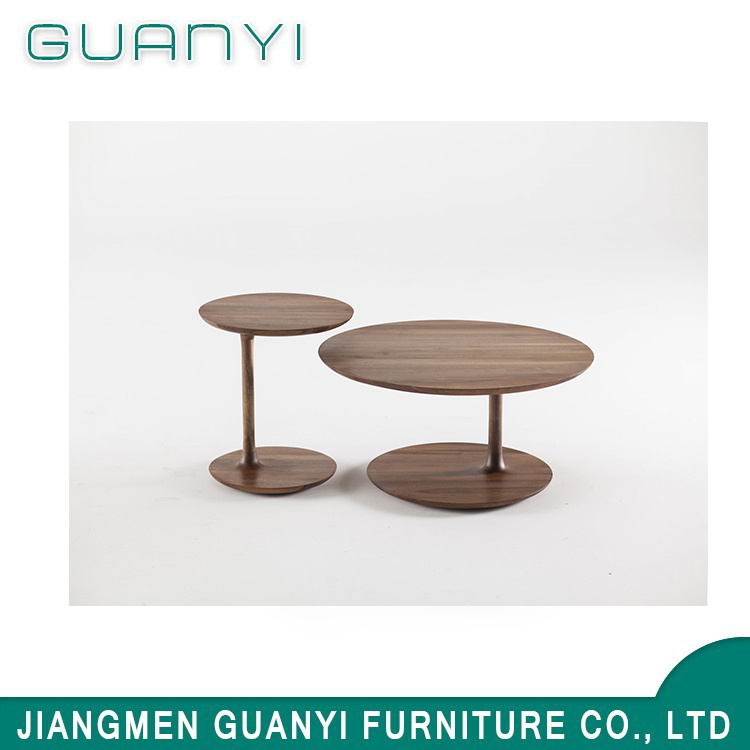 Round Wood Coffee Table.Hot Item 2019 New Fashion Simple Popular Round Wooden Coffee Table
