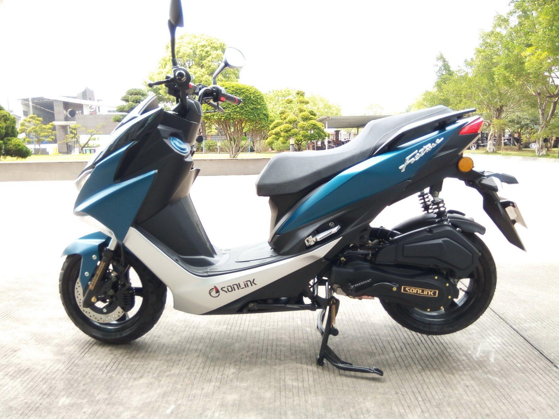 [Hot Item] 50cc/100cc/125cc/150cc EEC YAMAHA Engine Gas Motor Scooter  Motorcycle (SL100T-S5)