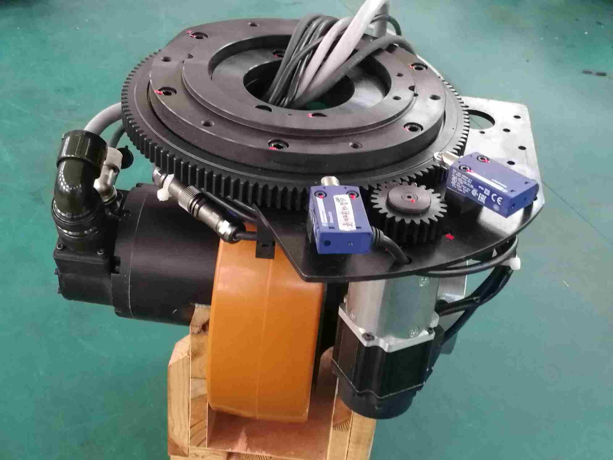 China High Performance Agv Drive Wheel Assembly Steerable System For Agv Robot China Agv Wheel Agv Drive Wheel