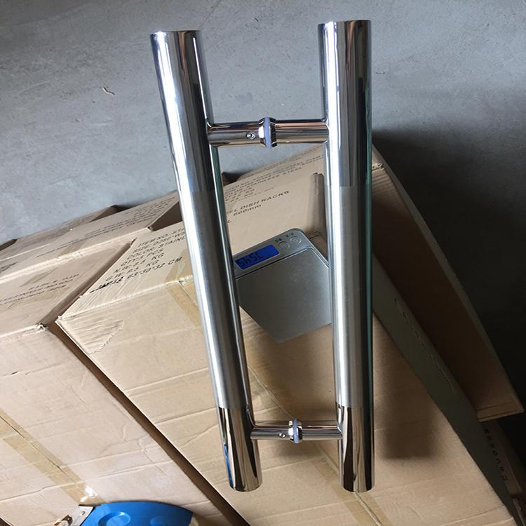 China Squarerectangle Shape Stainless Steel Push Pull Door Handle